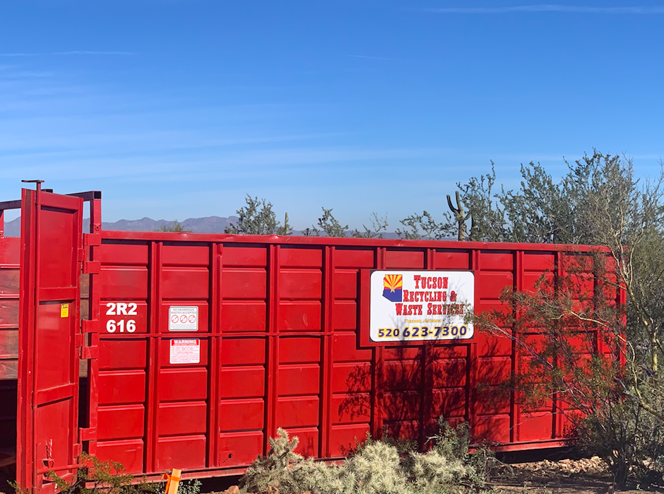 rent a dumpster in Tucson